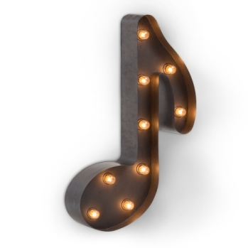 Broadway Note Lamp - myhome- apartment