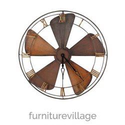 fan-clock