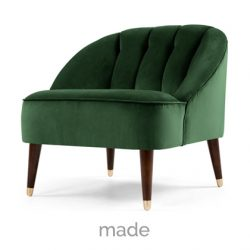 green-velvet-chair
