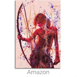 art canvas tomb raider