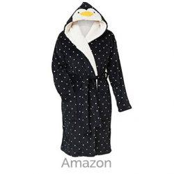 Christmas Penguin Women's Robe Gown