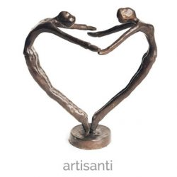 heart dance sculpture