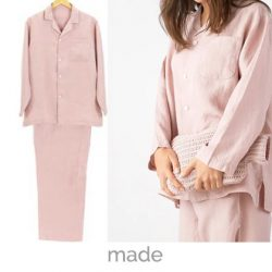 pyjamas dusty pink