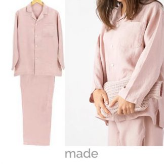 pyjamas dusty pink