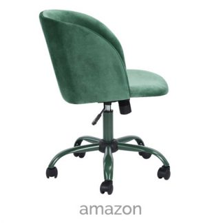 velvet fabric desk chair